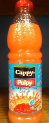 Cappy pulpy 1l grapefruit
