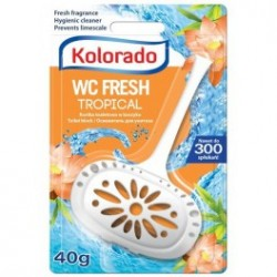 Kolorado fresh trópusi wc block 40g