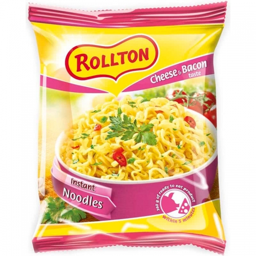 Rollton 60g cheese and bacon sajt és bacon