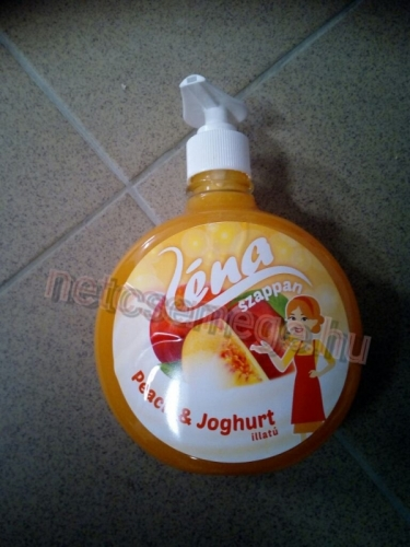 Léna foly.szappan pump.500ml peach&yoghu