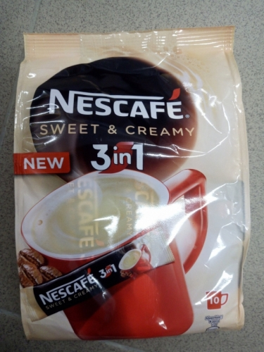 Nescafé 3in1 sweet cream 10x17g