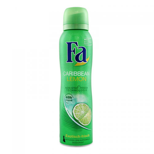 Fa deo 150ml caribbean lemon