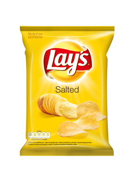 Lays 70g salted (sós) chips