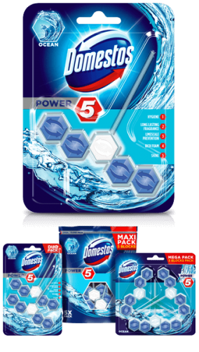 Domestos wc power5 55g ocean