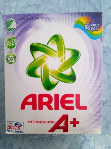 Ariel 675g color&style introducinga+