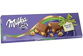 Milka 250g whole nuts