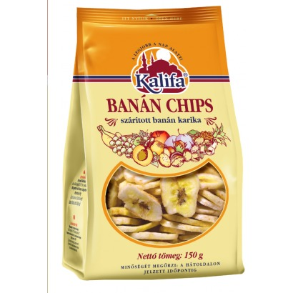 Kalifa 150g banánchips