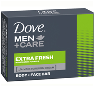 Dove 90g szappan men+care extra fresh