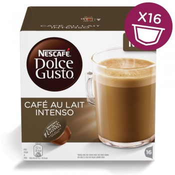 Dolce gusto 16db au lait intenso