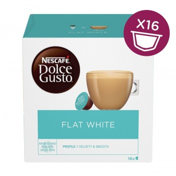 Dolce gusto 16db flat white