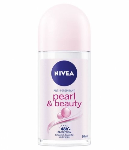 Nivea 50ml roll on pearl&beauty