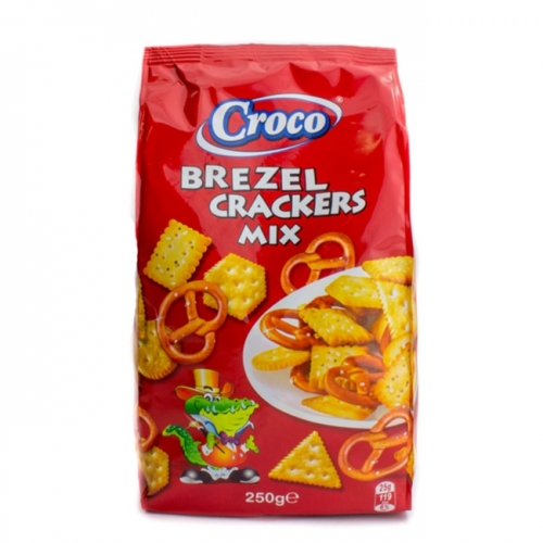 Croco 250g brezel crackers mix