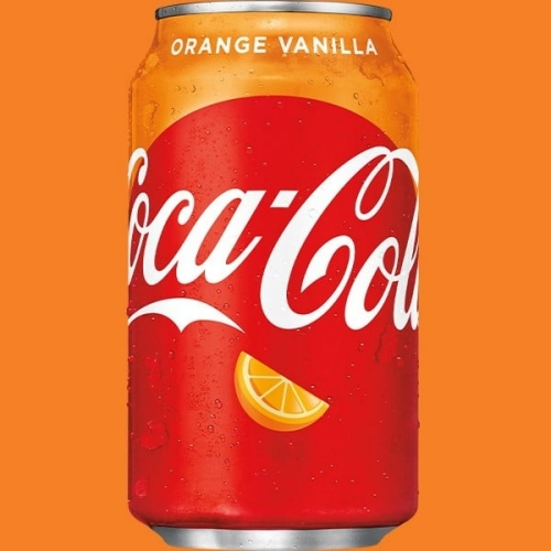 Coca-Cola 355ml orange vanilla