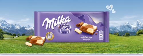 Milka 100g happy cows(foltos)