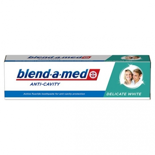 Blend-a-med 100ml anti-cavity delicate white