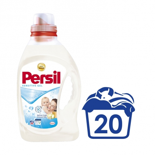 Persil 1L 20mosás Sensitive gél almond milk