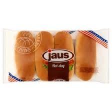 Jaus hot-dog kifli 250g