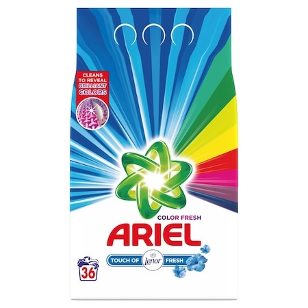 Ariel 2,7kg 36mosás touch of lenor fresh
