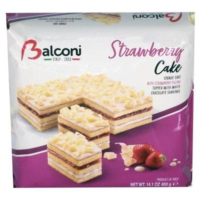 Balconi 400g torta strawberry cake
