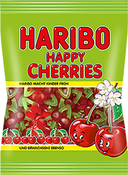 Haribo 100g happy cherries meggyfürt